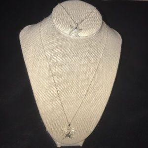 Avon starfish necklace and anklet